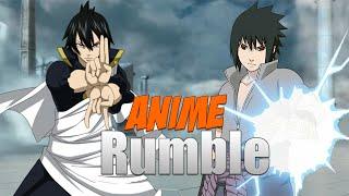 Anime Rumble: Zeref VS Sasuke (Duels)