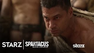 Spartacus: Blood and Sand | Episode 8 Clip: A Lesson from the Champion of Capua | STARZ