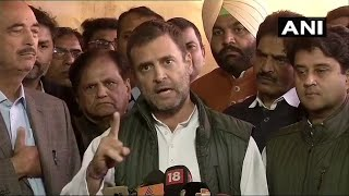 Work has begun: Rahul Gandhi on loan waivers by Chhattisgarh, MP govts