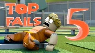 Top 5 Jailbreak Fails - Funny Roblox Animations