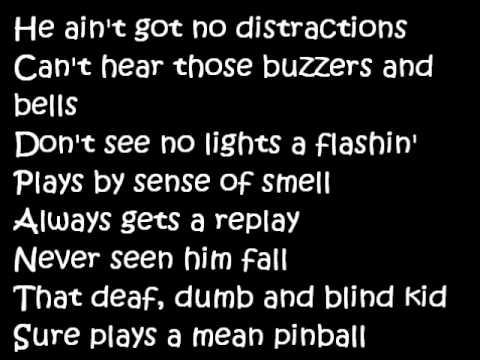 The Who - Pinball Wizard (Lyrics)