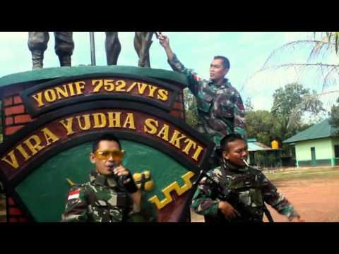 Tentara galau di perbatasan ciptakan lagu rap...