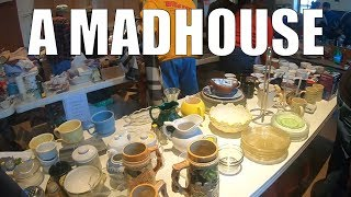 Rummage Sale Treasure Hunting for Antiques and Vintage + Haul