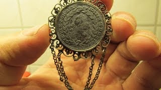 Metal Detecting Bavaria with Gerd & his Garrett ACE 250 Part 126 Great Silver Broach