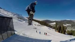 Snowboarding Keystone Colorado - Early Season 2015 - 2016