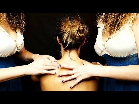 Binaural ASMR Massage & Whisper – Ear to Ear Back Massage w/ Relaxation & Sleep Tips