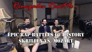 Renegades React to... Epic Rap Battles of History Skrillex vs. Mozart