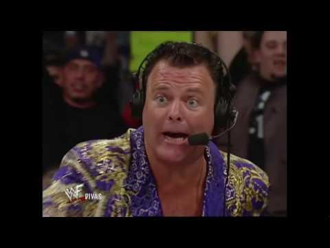 WWF Raw 10.23.2000: Lita Vs Trish Stratus - Bra And Panty Match 720pHd