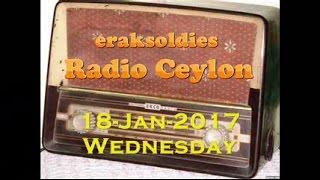 Radio Ceylon 18-01-2017~Wednesday Morning~02 Purani Filmon Ka Sangeet - Remembering K L Sehgal Sahab