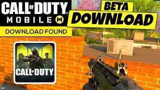 Call of Duty Mobile ANDROID BETA DOWNLOAD was FOUND in China..