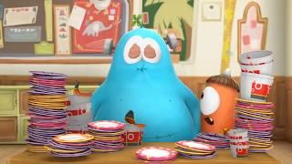 SPOOKIZ | 먹는 걸 멈출 수 없다 | 어린이 만화 | WildBrain Videos For Kids