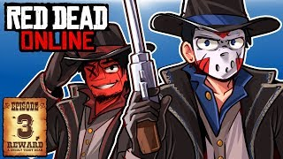 BEST OUTLAW DUO IN THE WEST! - RED DEAD ONLINE - Ep. 3!