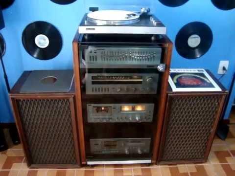 aparelhos de som vintage gradiente