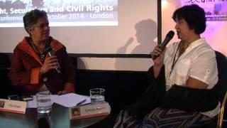 Bangladeshi writer Taslima Nasrin interviewed by Centre for Secular Space Director Gita Sahgal