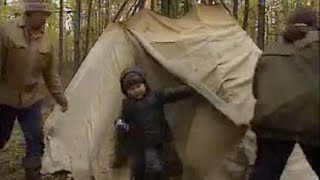 How to Build a Siberian Chum - Ray Mears World of Survival - BBC