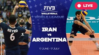 Iran v Argentina - Group 1: 2016 FIVB Volleyball World League