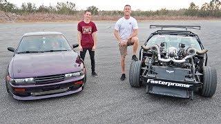 Drifting with Cleetus! (1100HP Twin Turbo LS)