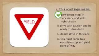 DMV Virginia Traffic Sign Test 1- Dmvvatest.com