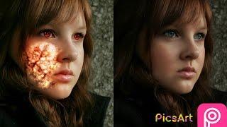 Sub Surface Skin picsart Fire inside picsart, burning lady picsart. picsart editing