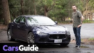 Maserati Ghibli 2017 review   road test video