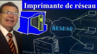 Matériel de réseau (3) Imprimantes réseau : schémas et résumé de cours
