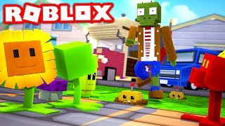 PLANTS VS ZOMBIES IN ROBLOX! (Roblox Plants vs Zombies 3)