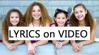 Haschak Sisters - What Do You Mean (Lyrics)