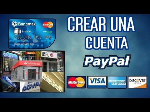 Como Crear Una Cuenta En  Paypal Con Tarjeta De Crédito 2016