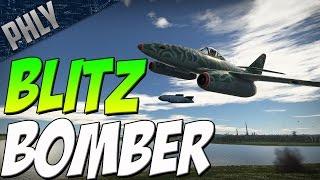 BLITZ BOMBER - Me-262 Sturmvogel (War Thunder Jet Gameplay)