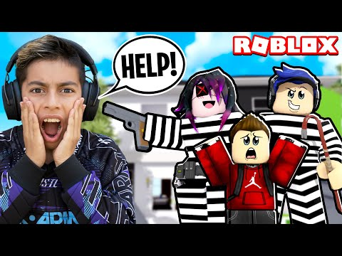 Ferran Got ADOPTED by CRIMINALS in Roblox Brookhaven Royalty Gaming