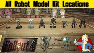 Fallout 4 All Robot Model Kit Locations