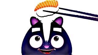 SUSHI MASTER FUNNY KITTCHEN ! Make DIY Sushi Fun Cooking Games For Kids