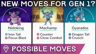 POKÉMON GO: THESE GEN 1 POKÉMON CAN LEARN THE NEW MOVES ADDED (IN THE ORIGINAL GAMES)