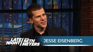 Jesse Eisenberg on Playing Lex Luthor in Batman v. Superman: Dawn of Justice
