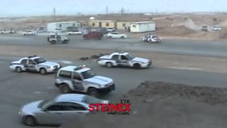 الشرطة السعودية تجاوب سريع مع حادث تفحيط