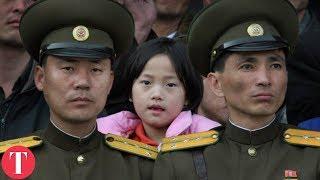 Inside The Lives Of North Korean School Children