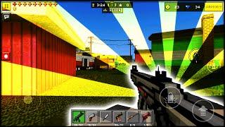 FIRST TIME PLAYING PIXEL GUN 3D (Minecraft with guns!?)