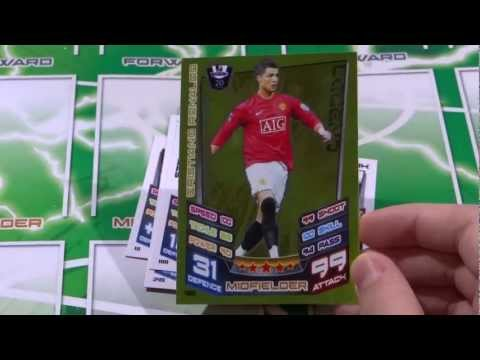 Match Attax 12 13 Opening Legend Cristiano Ronaldo Fantasy Team Card Box of 100 ep9