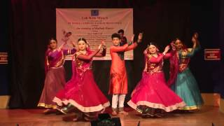 LKM In collaboration with AVDCKR Presented An evening of Kathak Dance on 28/02/2015 at LKM