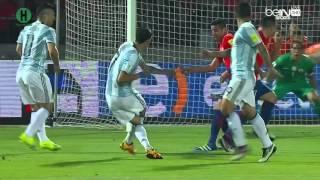 أهداف مبارة تشيلي و الارجنتين  1 - 2 تصفيات أمريكا الجنوبية المؤهلة لكأس العالم 2018 25-3-2016 HD