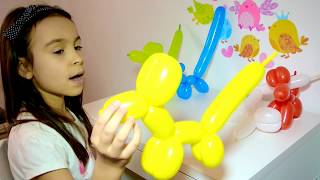 Daddy Finger Family Kids Songs for Toddlers   Learn Colors Balloons BABIES Song Collection