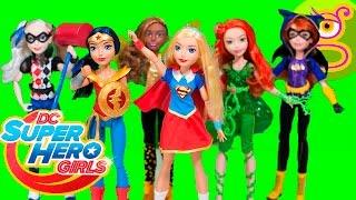 DC Super Hero Girls muñecas en español y Wonder Woman muñeca en acción - Unboxing