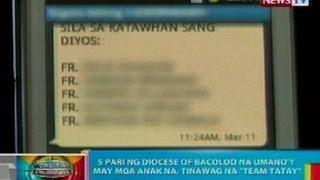 BP: 5 pari ng Diocese of Bacolod na may mga anak na, tinawag na 'Team Tatay'