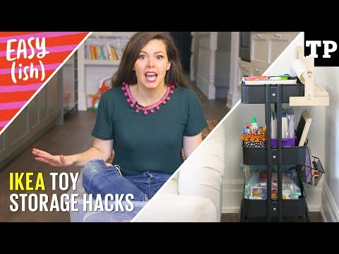 Xxx Mp4 5 Easy IKEA Toy Storage Hacks Easy Ish 3gp Sex
