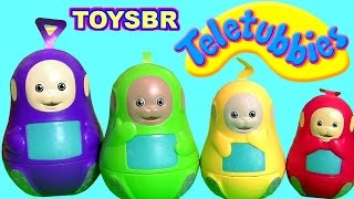 TOYSBR TELETUBBIES Stacking Cups Nesting Toys SURPRISE | Copinhos de Empilhar do Desenho Teletubbies