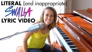 SWALLA (literal lyrics) Jason Derulo ft. Nicki Minaj & Ty Dolla $ign (piano cover Ali Spagnola)