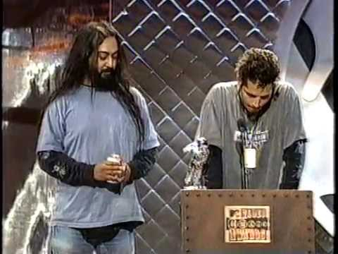 Soundgarden 1994 Mtv VMA Award Before & After Interview Award For Best Hard Rock Metal Video