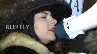Poland: Women march as abortion law protests hit 50 cities