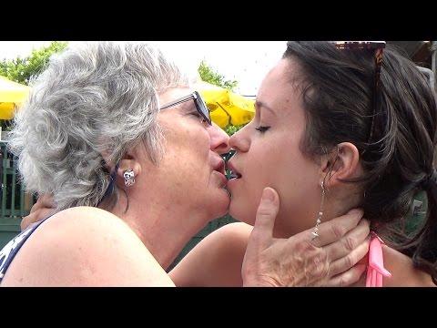 Daughter Kissing Mother PRANK!