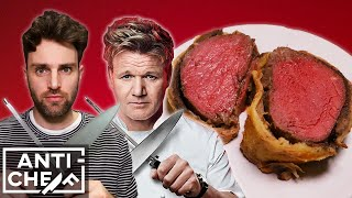 Mastering GORDON RAMSAY'S Beef Wellington | ANTI-CHEF